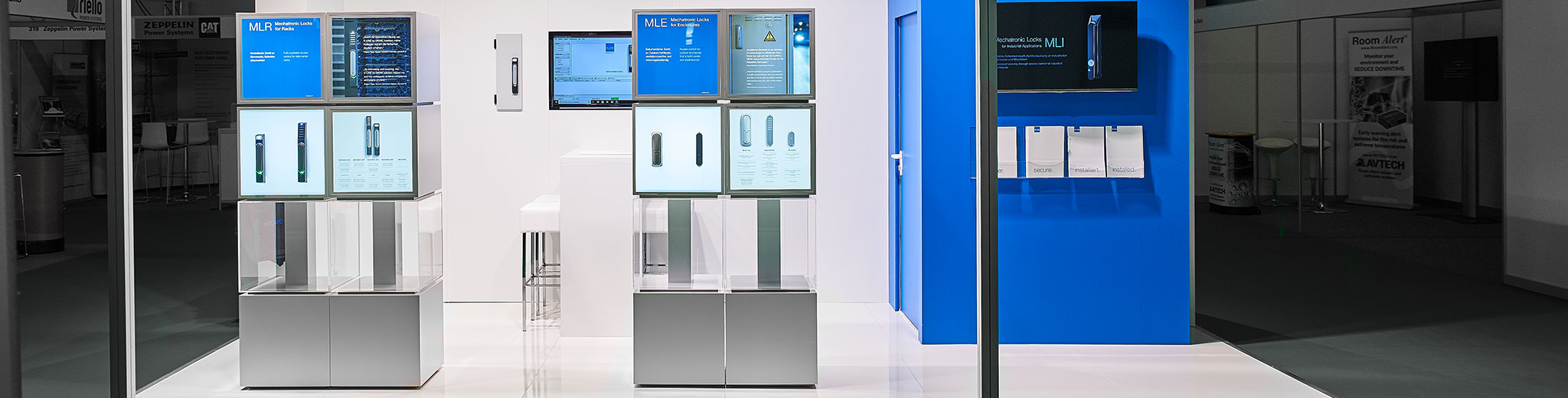 E-LINE booth at the trade fair DCW Frankfurt
