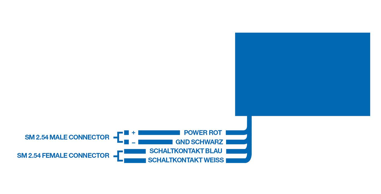 Anschlussdiagramm für MLU1002